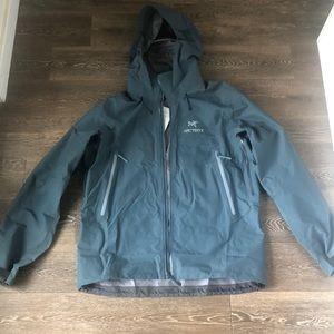 Men's arcteryx jacket.